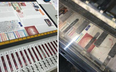 Unsere Zeitung ist in der Druckerei!