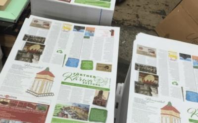 Die Kärwazeitung für die Fürther Kirchweih 2018 ist gedruckt