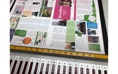 Die Kärwazeitung 2019 wird gedruckt