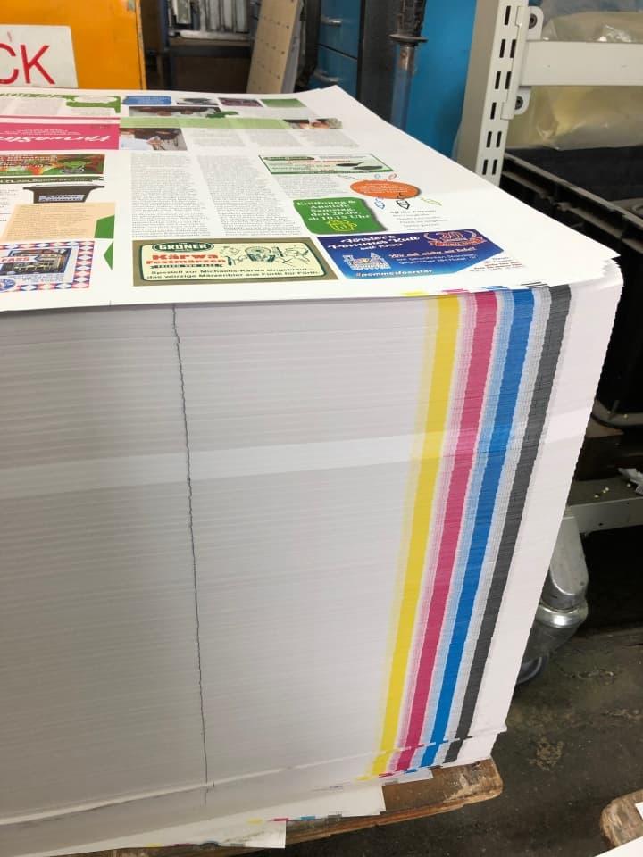 Kaerwazeitung gedruckt