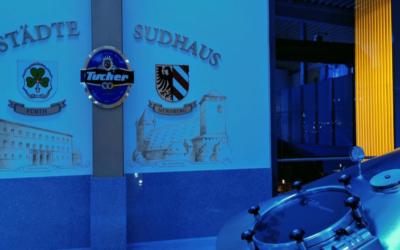 Tucher Brauereiführung mit dem Kärwazeitungsteam