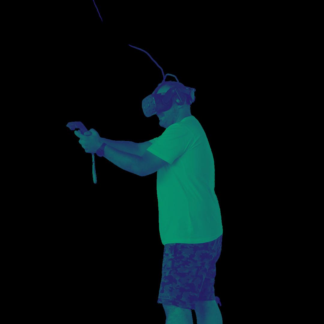 VR Brille Pixels Fuerth