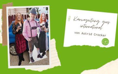 Kärwazeitung goes international